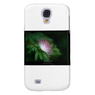 Just a flower – Pink & White flower Caliandra 011 Samsung Galaxy S4 Covers