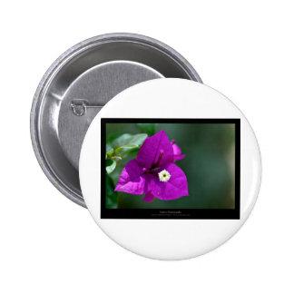 Just a flower – Purple flower Bouganvillea 010 6 Cm Round Badge