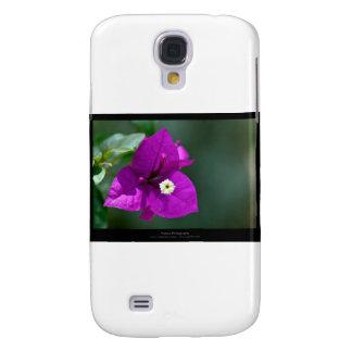 Just a flower – Purple flower Bouganvillea 010 Galaxy S4 Case