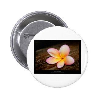 Just a flower – Simple flower 003 6 Cm Round Badge