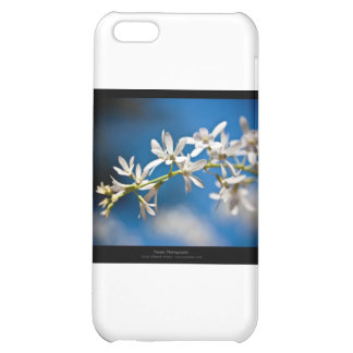 Just a flower – White flower 004 iPhone 5C Cases