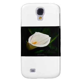 Just a flower – White lily flower 020 Galaxy S4 Case