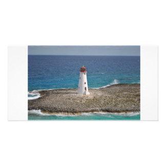 just a light house custom photo card