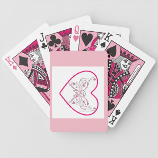 just a little bit of heart bicycle playing cards