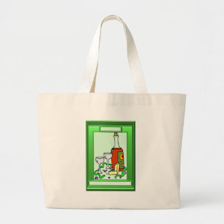Just a little drink canvas bags