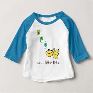 Just a little fishy cute fish design baby T-Shirt