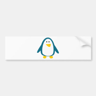 Just a Little Penguin Bumper Sticker