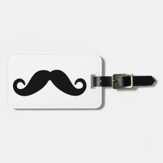Just a Mustache. Luggage Tag