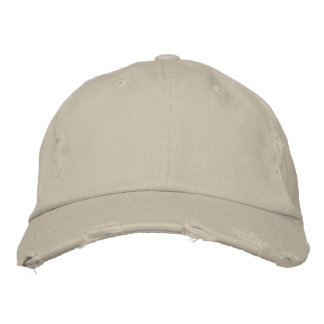 JUST A NICE DISTRESSED HAT BASEBALL CAP