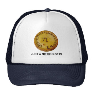 Just A Notion Of Pi (Pi On A Pie) Trucker Hat