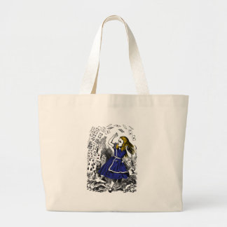 Just a Pack of Cards Large Tote Bag