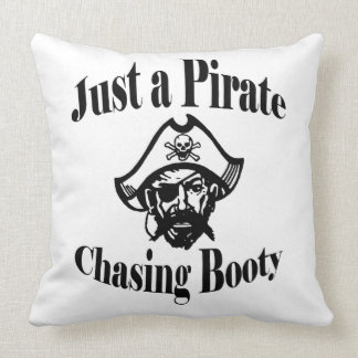 Just a Pirate Chasing Booty Double Sided Cushion