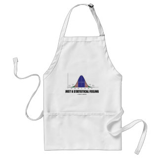 Just A Statistical Feeling (Statistical Humor) Standard Apron