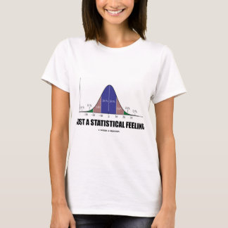 Just A Statistical Feeling (Statistical Humor) T-Shirt