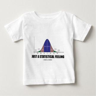 Just A Statistical Feeling (Statistical Humor) Tee Shirt