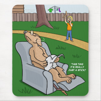 Just a Stick Placemat Mouse Pad