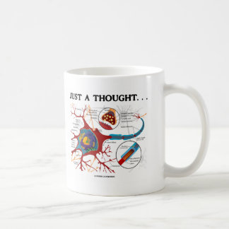 Just A Thought... (Neuron / Synapse) Coffee Mug