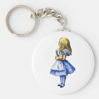 Just Alice Key Ring