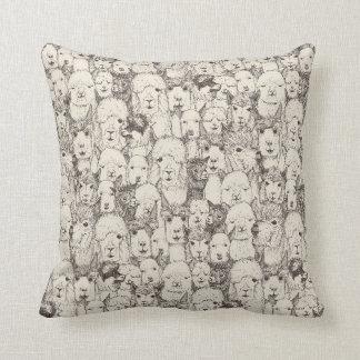 just alpacas natural cushion