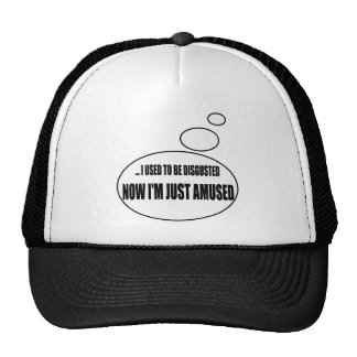 Just Amused Talking T-shirts Gifts Cap