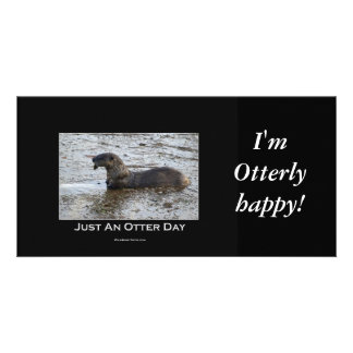Just an Otter Day Gifts Photo Card