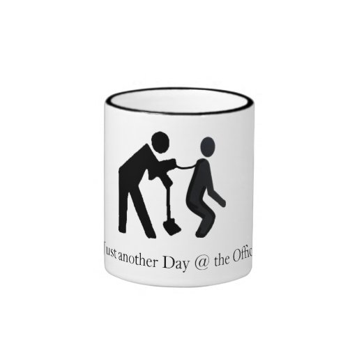 Just Another Day The Office Ringer Mug Zazzle