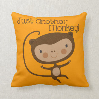 Just Another Monkey Cushion