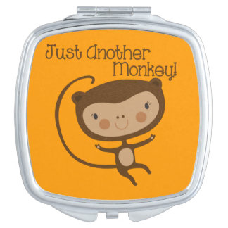 Just Another Monkey Makeup Mirror