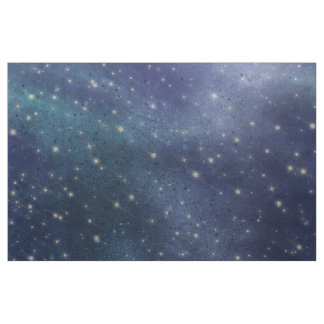 Just Another Night Sky With Stars Fabric