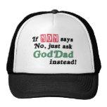 Just Ask GodDad Hat