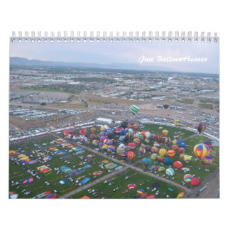 Just Balloon Heaven Calendar