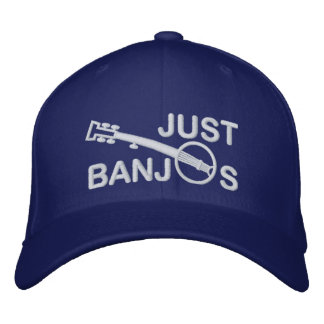 Just Banjos Cap with White Embroidery
