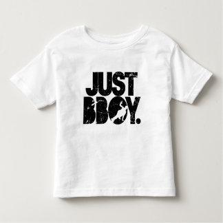 just bboy - black distressed toddler T-Shirt