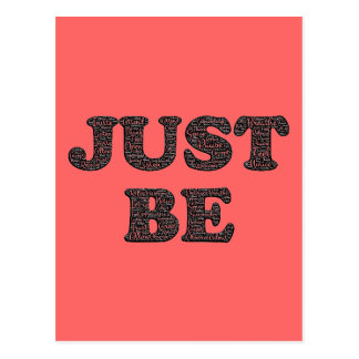 Just Be Mindful Postcard