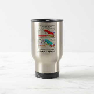 Just Be Prepared For Wacky Weather Travel Mug