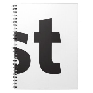 Just be spiral note books