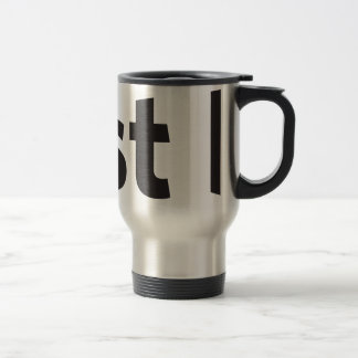 Just be stainless steel travel mug