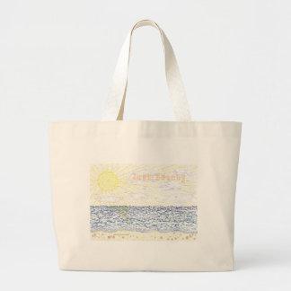 Just Beachy Jumbo Tote Bag