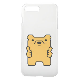 Just Bear with It Thumbs Up Bear Puns Phone Case