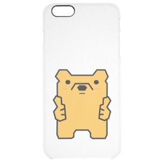 Just Bear with It Thumbs Up Bear Puns Phone Case iPhone 6 Plus Case