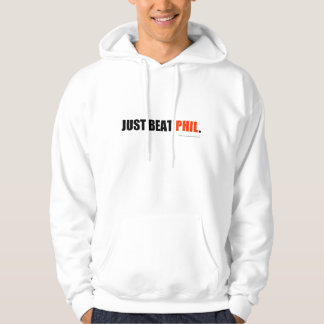 Just beat Phil hoodie - red