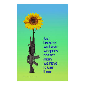 Just Because We Have Weapons... Poster