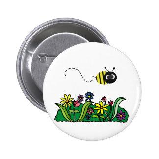 Just Bee 6 Cm Round Badge