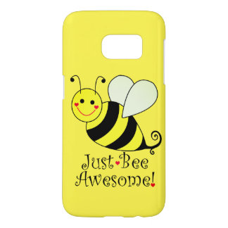 Just Bee Awesome Yellow Bumble Bee