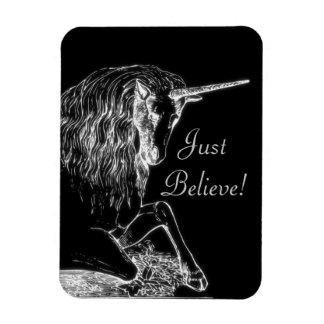 Just Believe Unicorn Magnets
