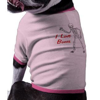 Just Bones - Halloween Skeleton Dog Costume Dog Shirt