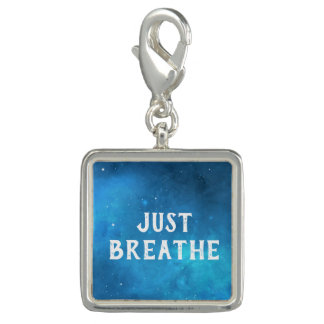 Just Breathe Galaxy Sky Charm