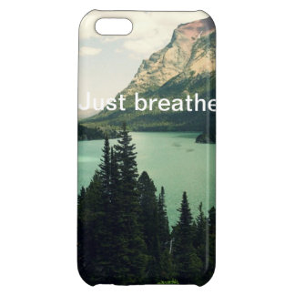 Just Breathe iPhone Case iPhone 5C Case