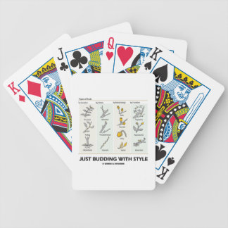 Just Budding With Style (Types Of Buds) Deck Of Cards