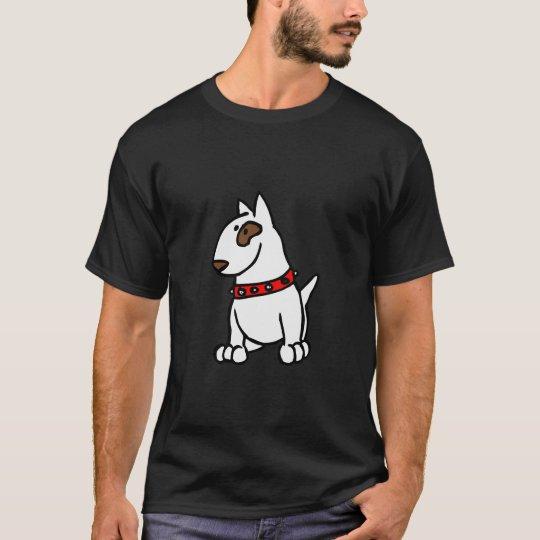 Just Bully on Black - English Bull Terrier